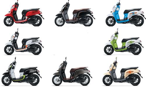 harga dan warna motor honda scoopy bandung 2017, motor honda scoopy bandung, honda scoopy bandung