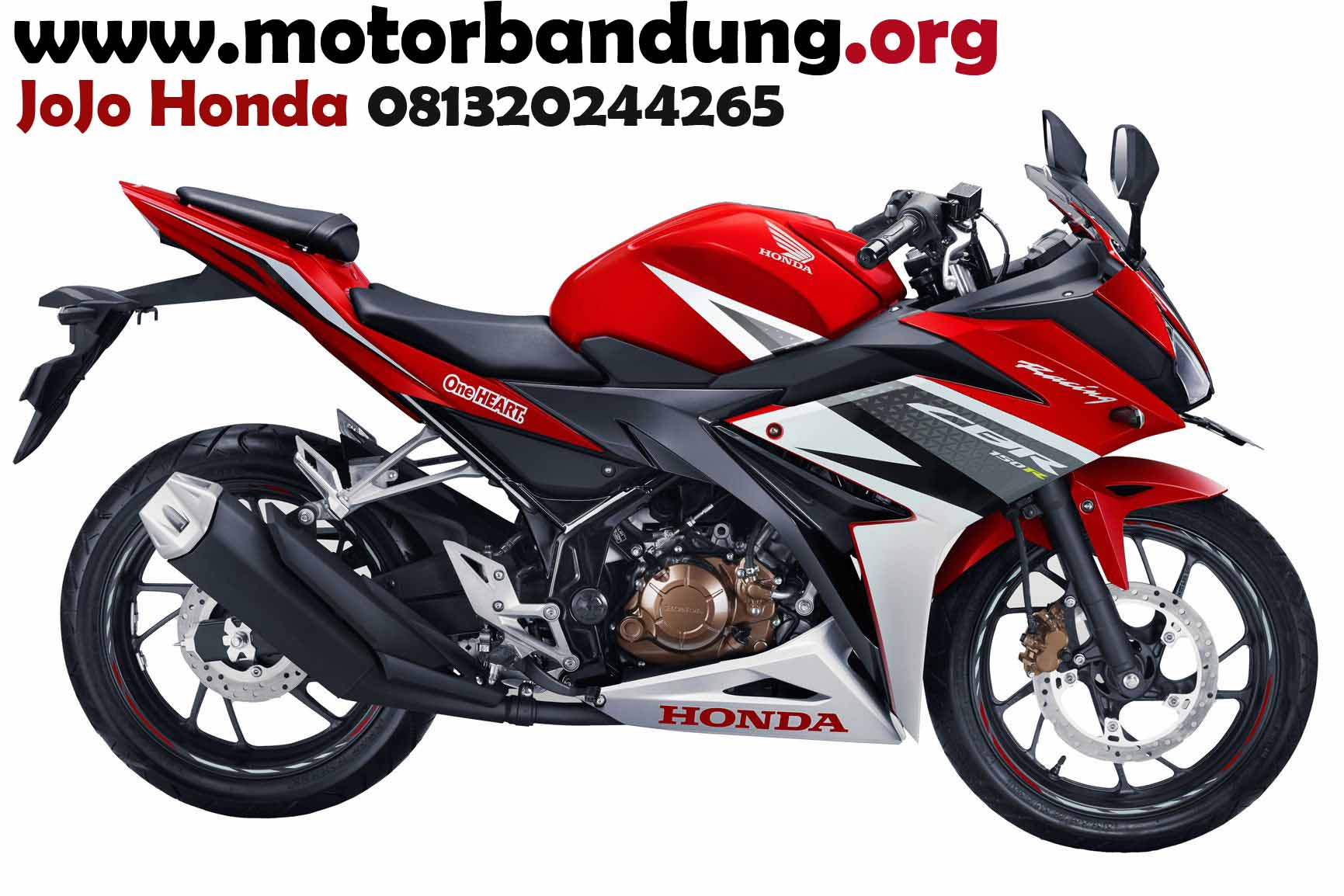 honda all new cbr 150 r bandung, cbr 150 facelift