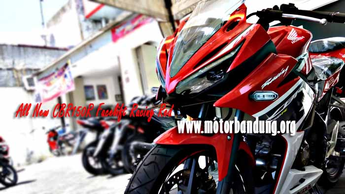 all new cbr150r racing red bandung