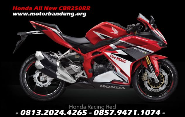 honda all new cbr250rr racing red bandung