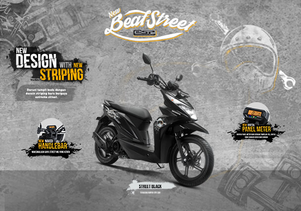 Harga Motor Beat Street Terbaru