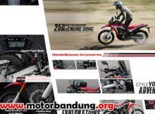 motor honda trail bandung