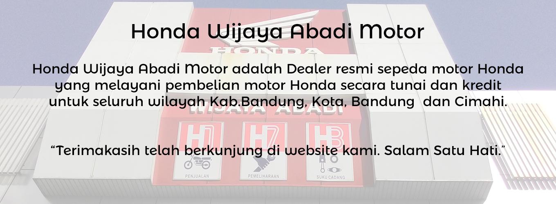 Dealer Motor Honda Bandung Cimahi