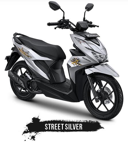 honda beat street silver